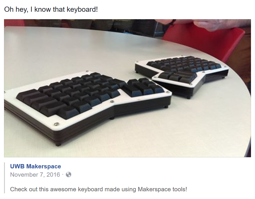 Post about keyboard